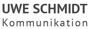 uwe-schmidt-kommunikation.com Logo